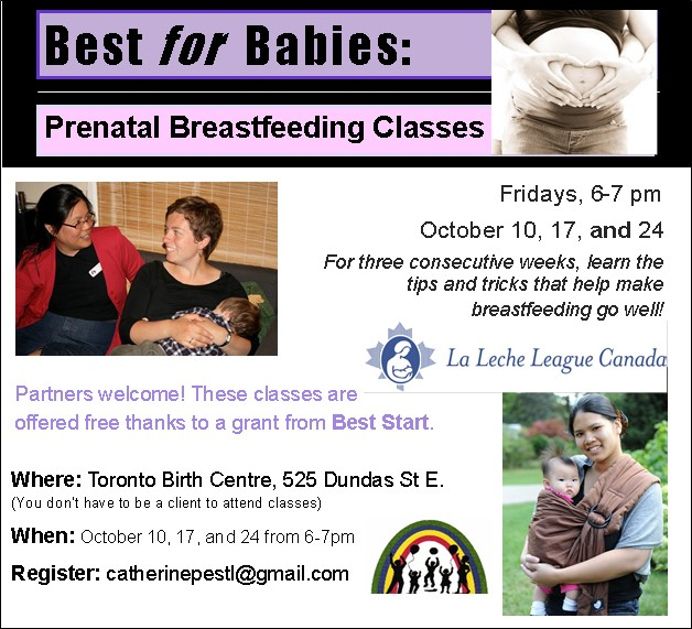 LLLC Prenatal BF class